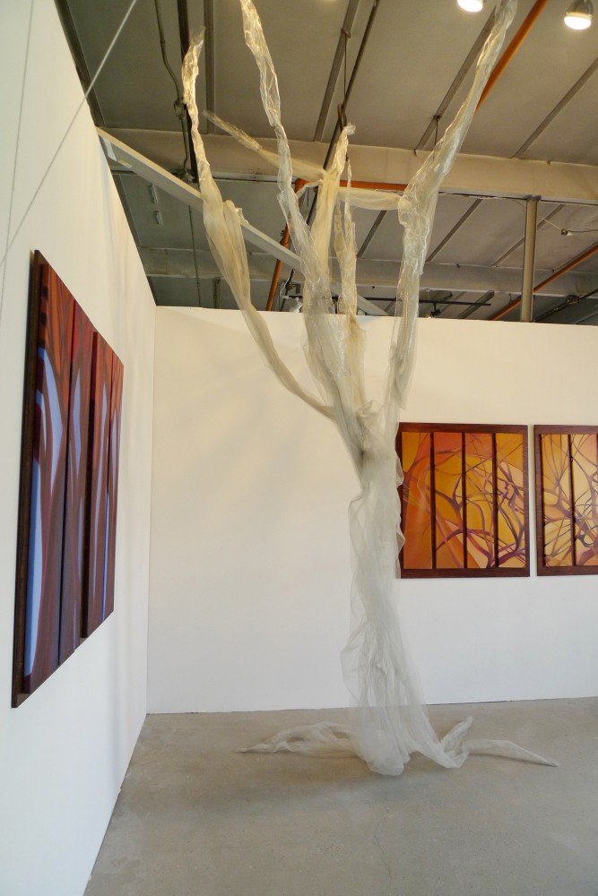 Trees of Life II Studio Installation
