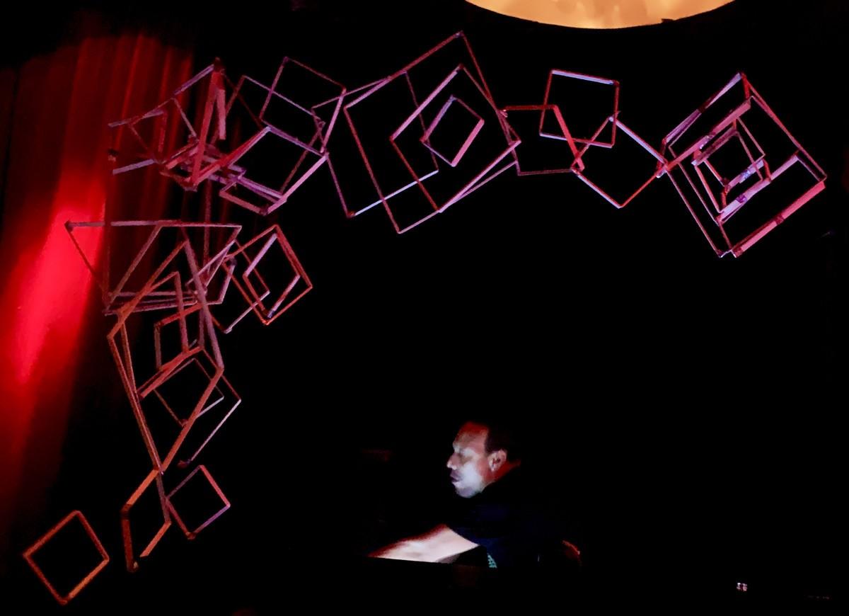 Bent Installation for DJ Derrick Carter