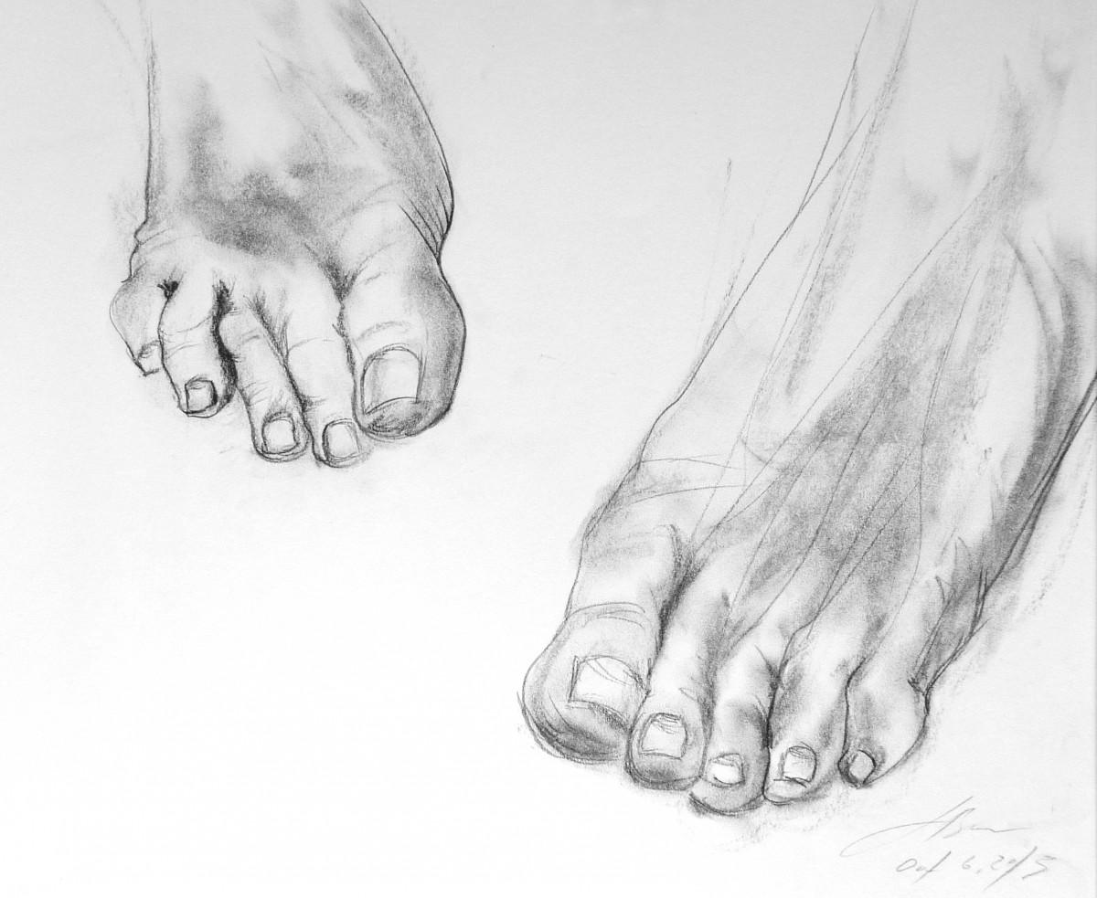 Foot Study, 2013