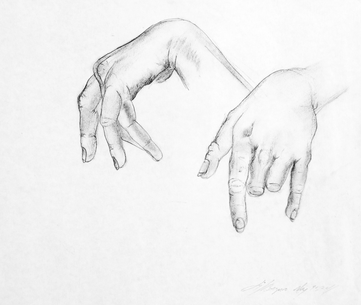 Hand Study, 2014