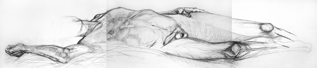 Figure study for Hero, 2006