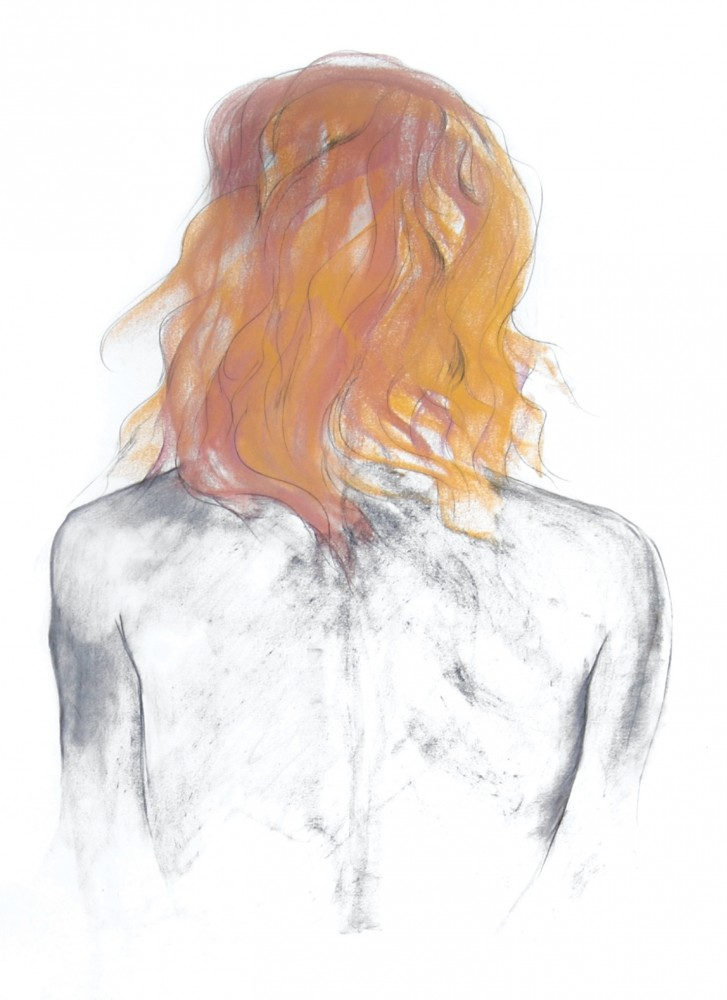 Figure study - hair for Icarus, 2008