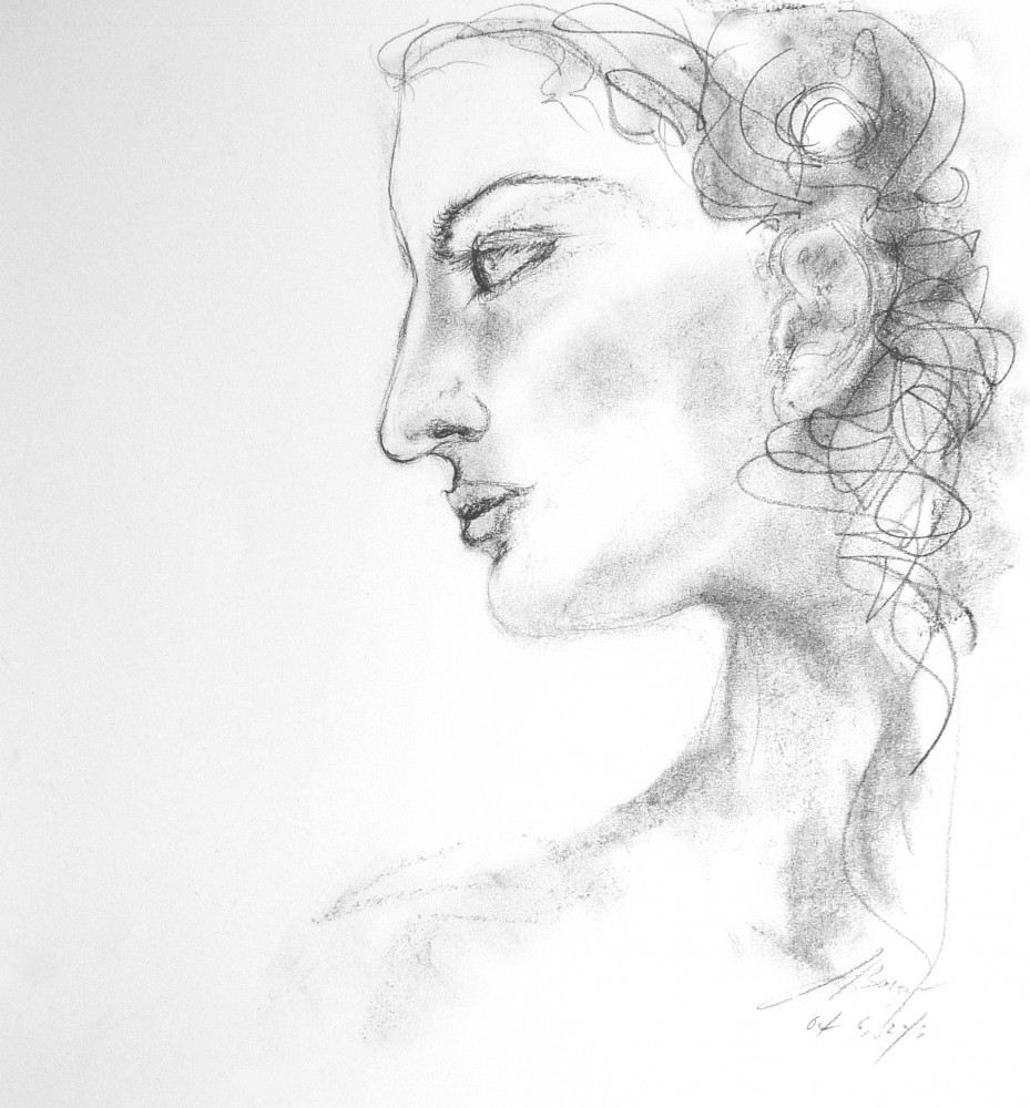 Female Portrait Study, 2013
