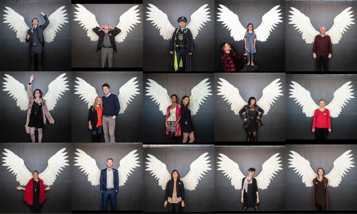 """I got Wings"" Wing Series Jyl Bonaguro"