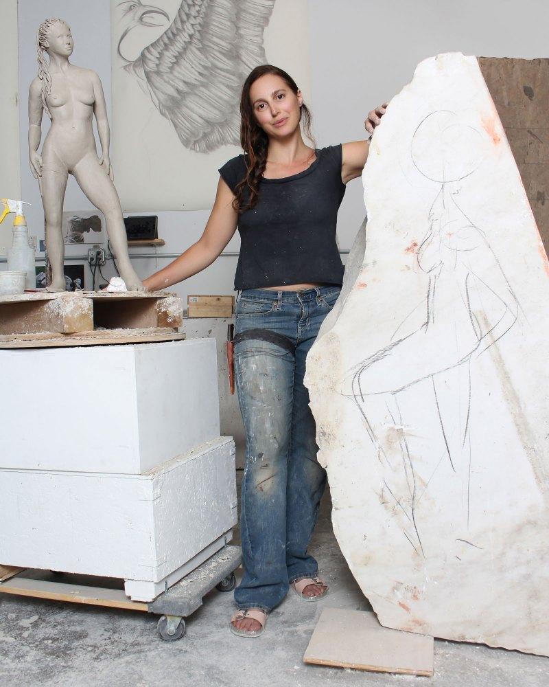 Jyl-Bonaguro-Modern-Athena-Sculpture-1