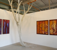 Trees of Life II Studio Installation