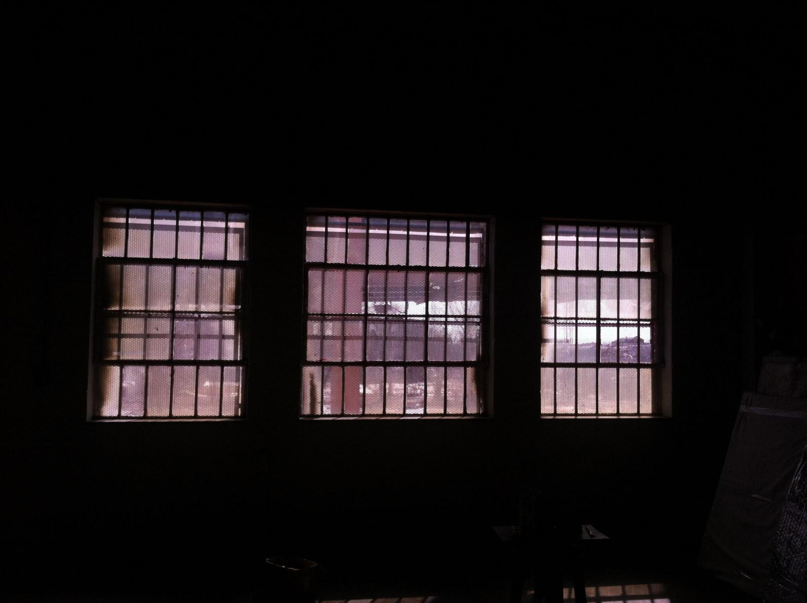 Jyl Bonaguro Artist Studio Windows