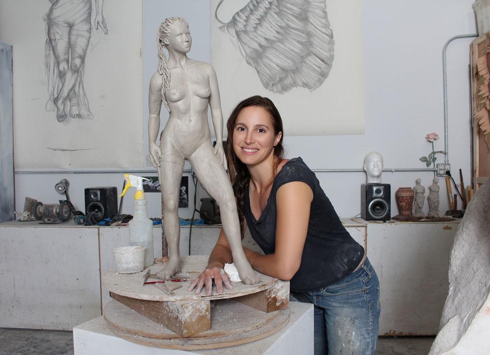 jyl-bonaguro-modern-athena-sculpture