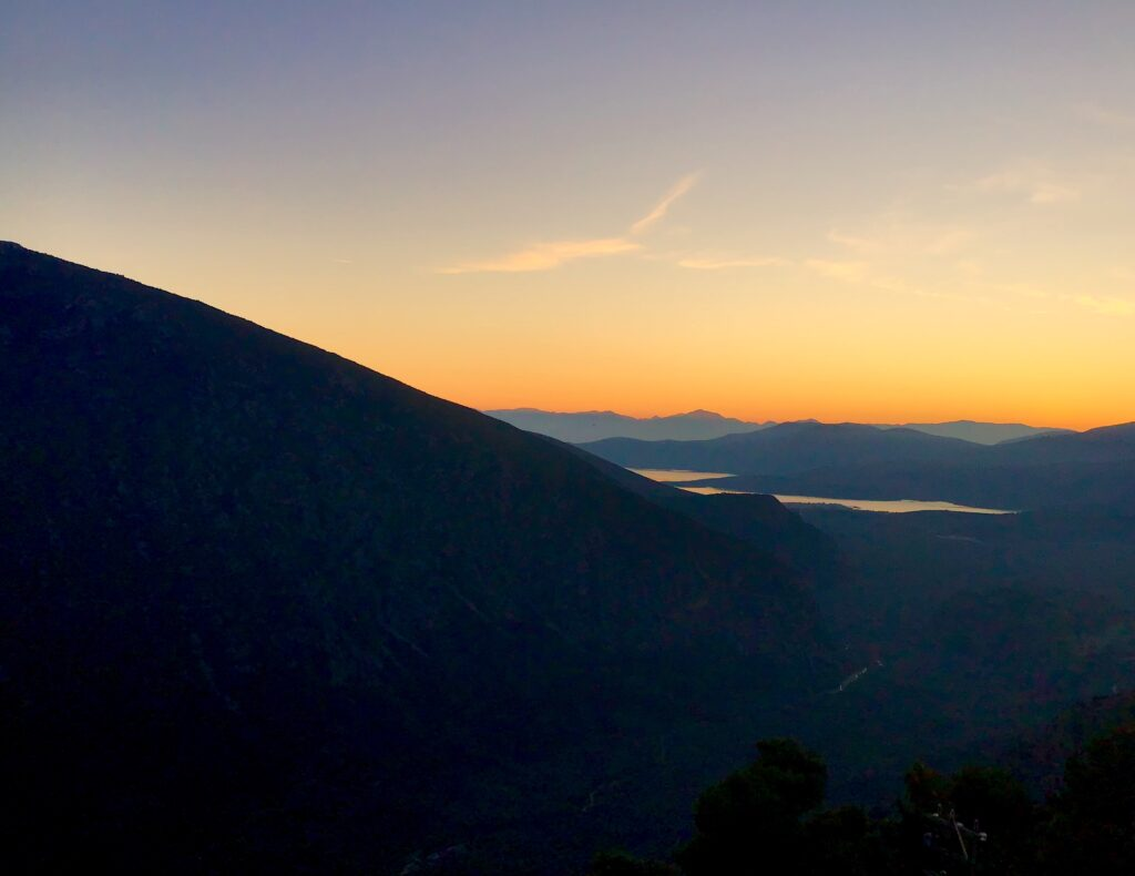 Delphi Greece Sunset View Jyl Bonaguro