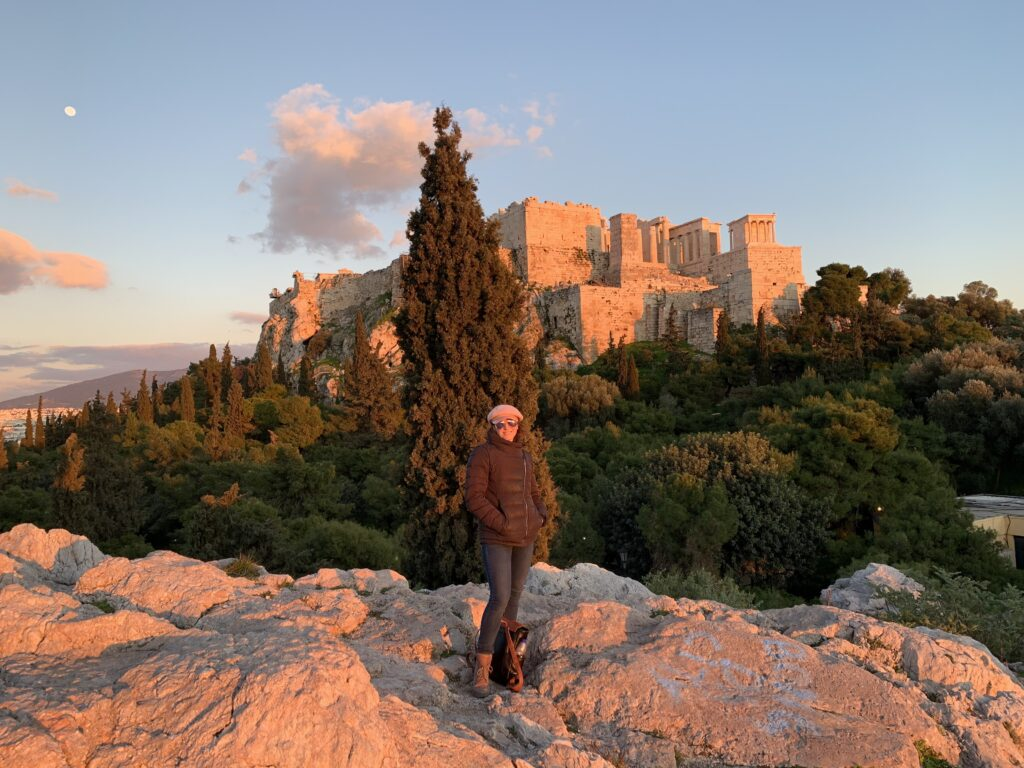 Athens Greece Artist Residency Jyl Bonaguro Acropolis