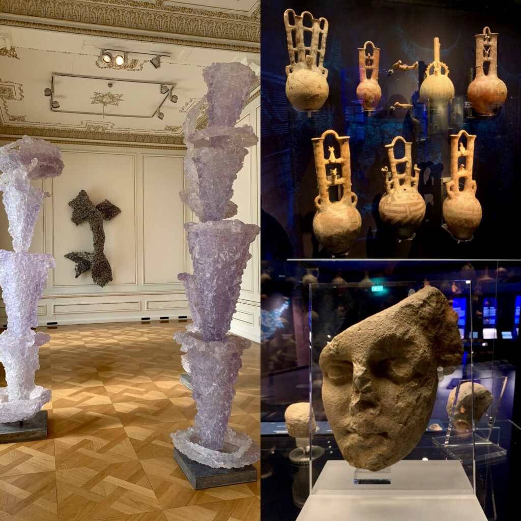 Athens Greece Artist Residency Jyl Bonaguro Athens Museums Cycladic