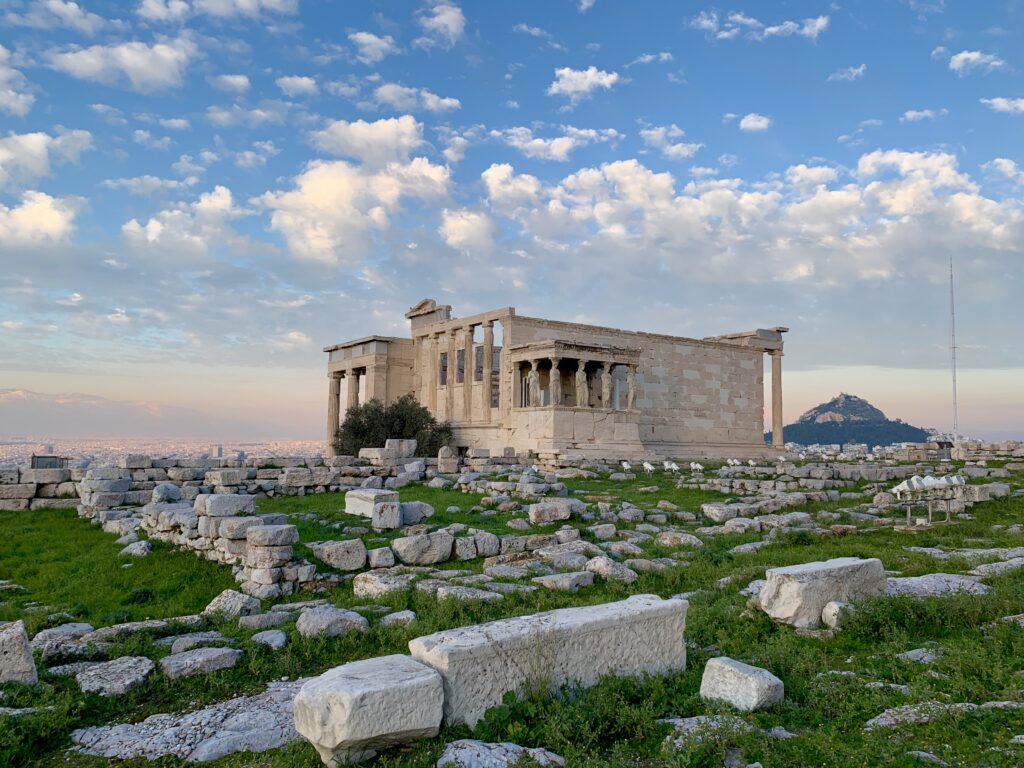Athens Greece Artist Residency Jyl Bonaguro Erechtheion Athens Greece