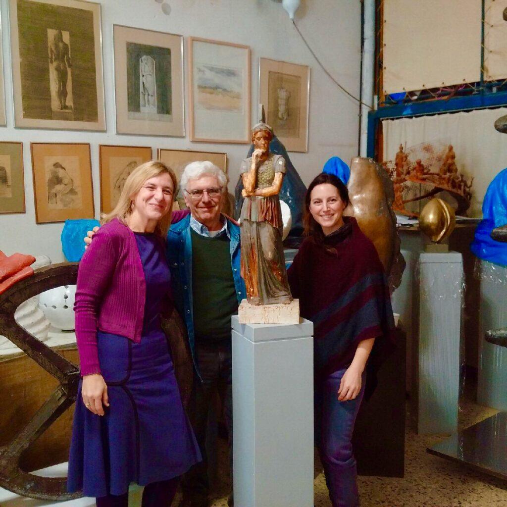 Praxiteles Sculptor Elizabeth Plessa Jyl Bonaguro